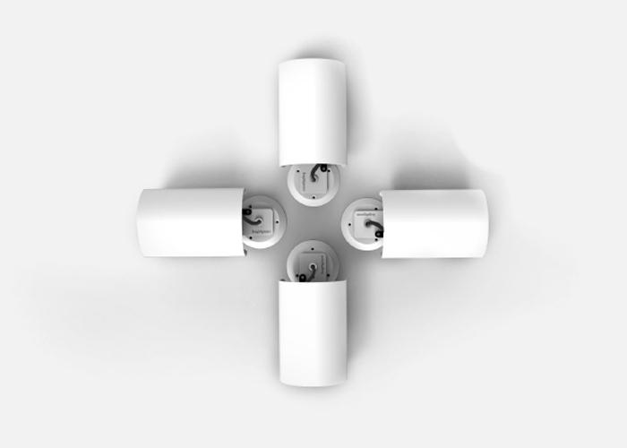 D2000 SHX White Fascia Grouped