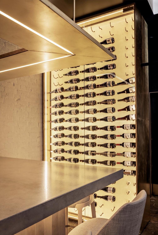 LumiSheet Wine Rack