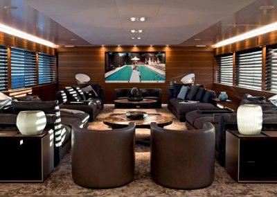77m Superyacht Silverfast-Saloon