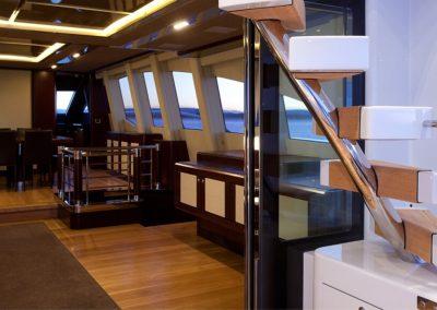 36.5m Superyacht Quantum Saloon View