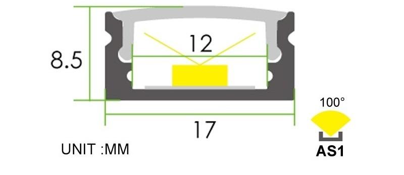 3528-240 LED Cut Off Segment Image